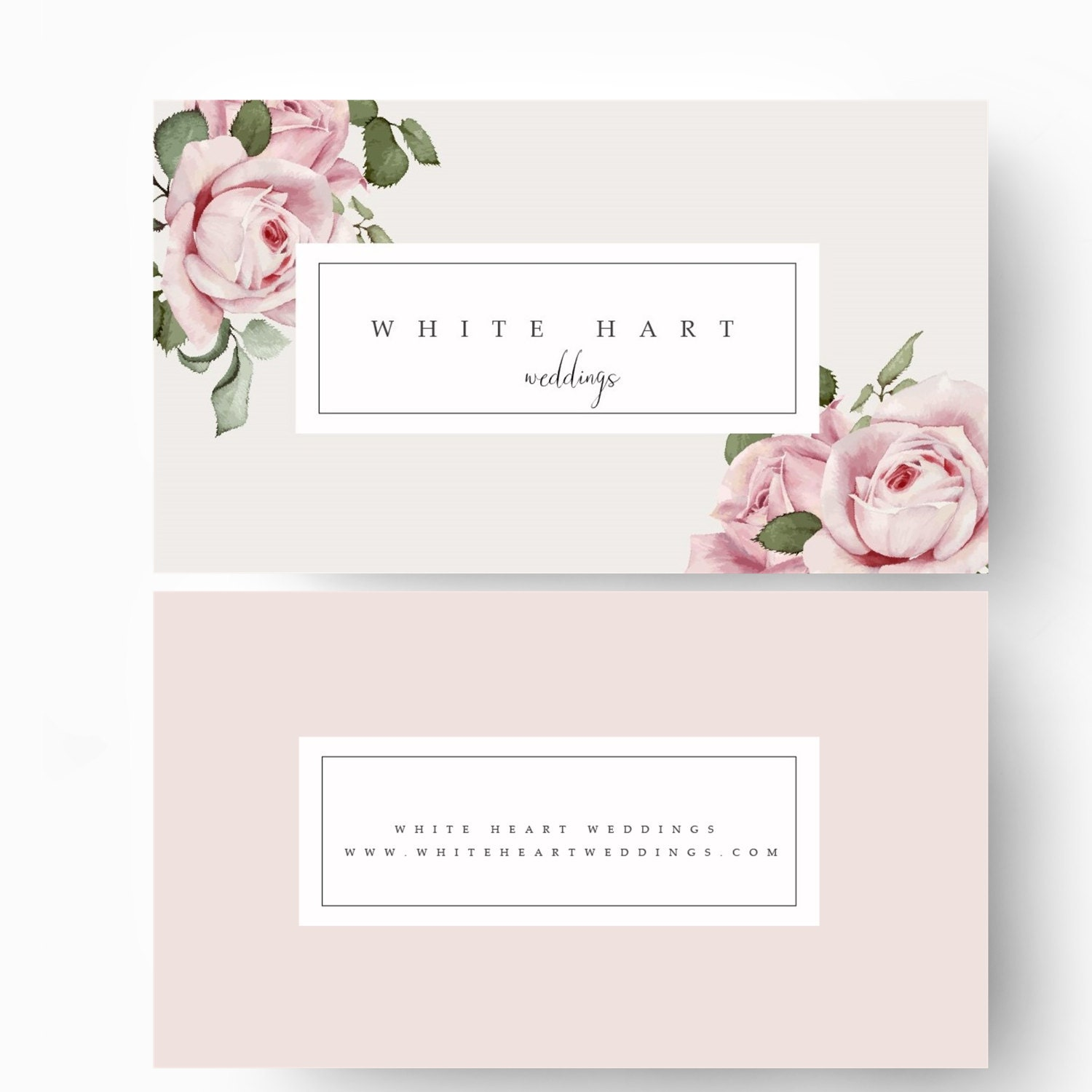 business card template modern business card design flower