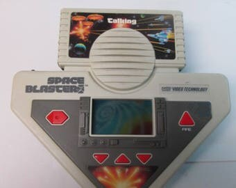 Talking space blasters vtech video technolgy