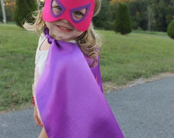 Spidergirl Cape and Mask, Superhero Cape, Girls Spiderman, Pink Spiderman, Girls Spiderman Birthday Party, Personalized Cape,Girls Superhero
