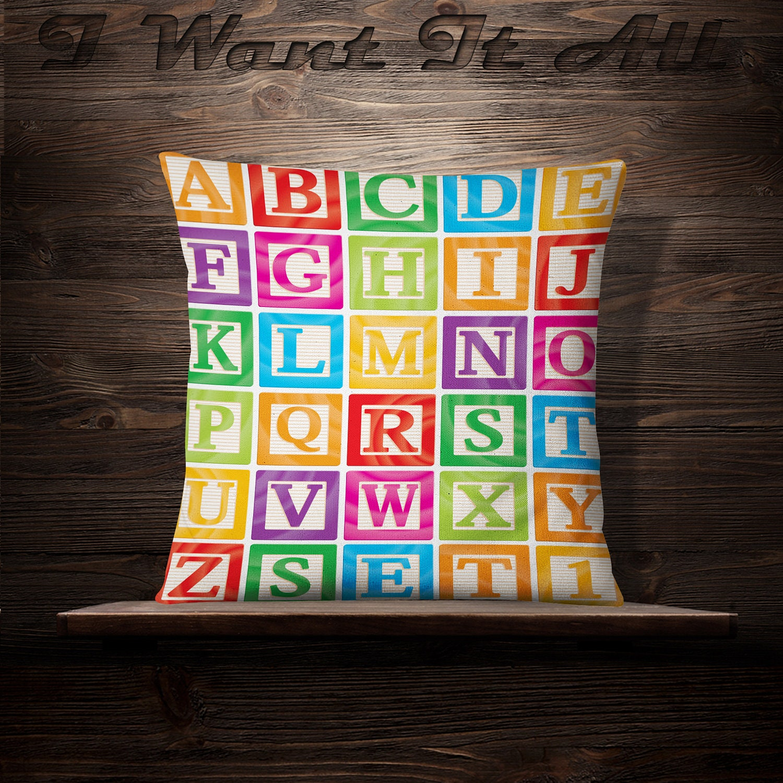 ABC Blocks Alphabet Blocks Educational Gift
