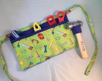 Childs tool belt, Daddy's little helper, tool belt,little boys toys, toys