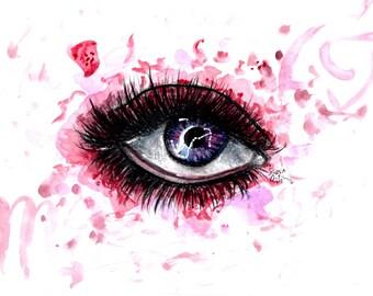 Scorpio Eye Digital Print
