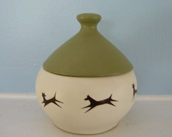 McCoy Pet Treat Jar with Bell