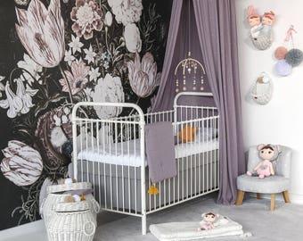 MONO baby bed cot 70 x 140 cm white