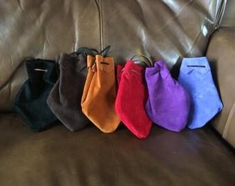 Drawstring pouch, Dice bag, SCA LARP RenFaire Cosplay