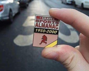 Sports Almanac Back To The Future Hard Enamel Pin