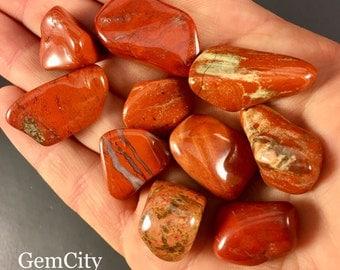 Red jasper Stone, Tumbled Red Jasper, Polished Red Jasper,Chakra, wicca, reiki, Crystal Grid, Jasper, Natural Jasper, Red Jasper Stones