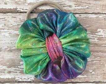 Rainbow mini on nylon