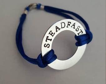 Inspirational word bracelet