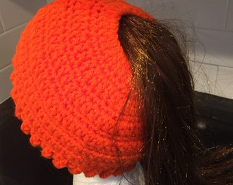 MessyBun Hat