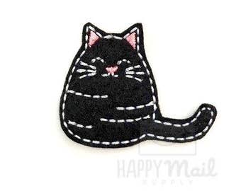 Black Cat Felties Kitty Felties - CUT Felties - Set of 4