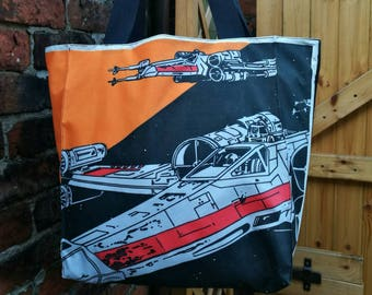 Star Wars X-Wing Starfighter tote bag