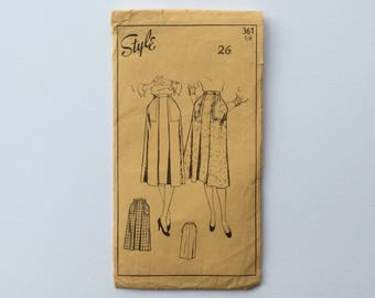 1940s W26 Skirt with Pockets Sewing Pattern : Style 361