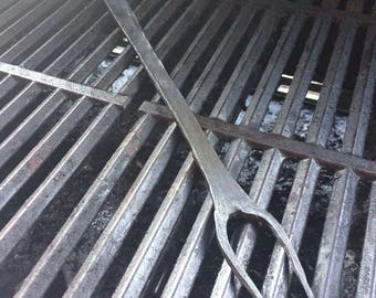 Hand Forged Barbeque Fork