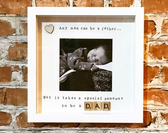 New Baby Dad Photo Frame