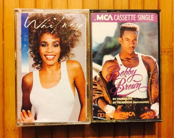 Bobby & Whitney Tapes (Music/Audio Cassette,80's) Whitney, My Perogative