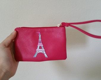 Eiffel tower wristlet