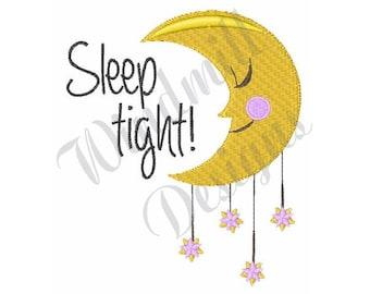 Sleep Tight - Machine Embroidery Design