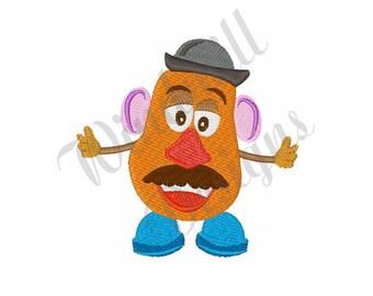 Mr Potato Head - Machine Embroidery Design