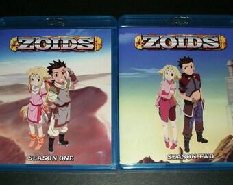 Zoids Chaotic Century (1999) Complete Series Season 1 & 2 Blu-ray Set UNCUT English Dub Anime HD Rare