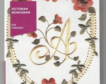 Anita Goodesign, Full Collection, Machine Embroidery Designs, Victorian Monogram