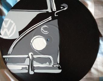 Volkswagen Type 2 Van Vinyl Art