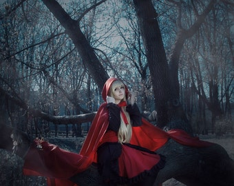 Red Riding Hood Custom Made Cape