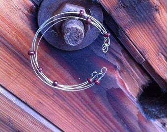Elegant bracelet Wire Wrapped Bracelet