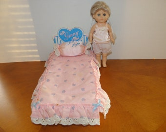 Ginny Doll Bed and Doll