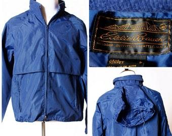 Vintage Men's Windbreaker Eddie Bauer - 90's Large L Jacket
