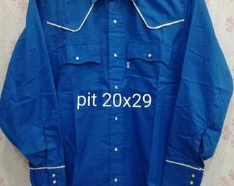 Vintage, Western Shirt, Levis Olympic 1980
