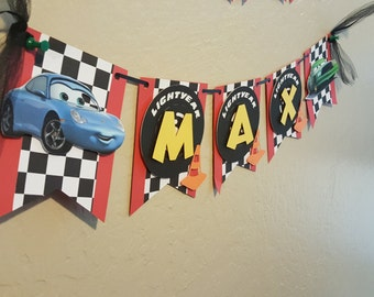 Cars Theme Name Banner