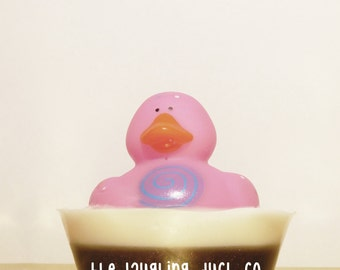 Cupcake Soap, Rubber Ducky Soap, Cookies & Cream, Shea Butter Glycerin Soap, Rubber Duck, Toddler Gift Idea, Toy, Stocking Stuffer