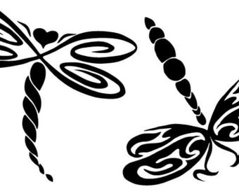 Dragonflies Decal #1