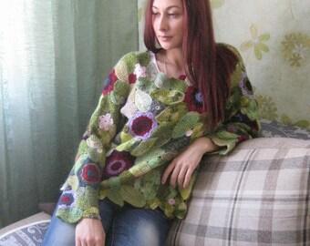 Crochet sweater ,Crochet ,Sweater ,Womens clothing ,Womens sweater ,Crochet sweater ,Crocheted sweater ,Knit sweater ,Crochet lace jacket