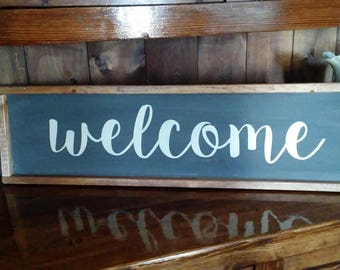 Medium Welcome Sign