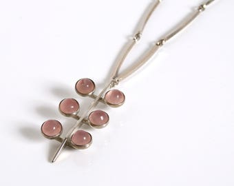 N E From Rose Quartz Necklace