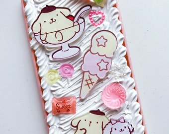 READY TO SHIP Pom Pom Purin decoden case for iPhone 6/6s