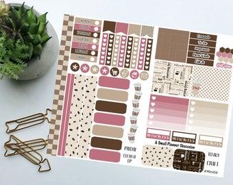 Everyday Coffee happy planner mini stickers, Coffee stickers, Mini happy planner stickers, #mini04, mini stickers