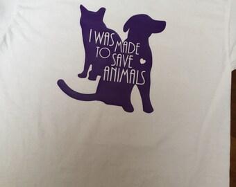 Animal Rescue Tshirt