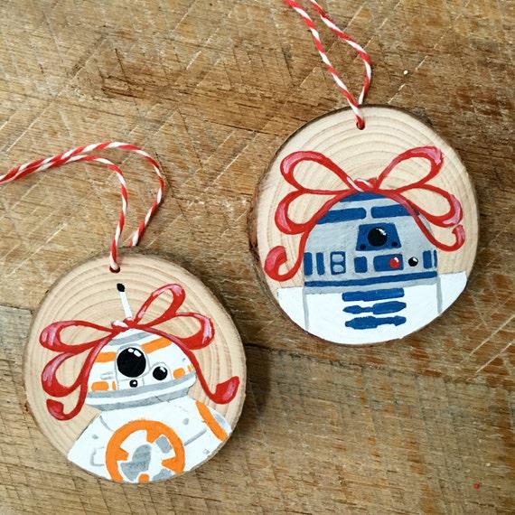 Star Wars R2D2 Christmas Ornament - Star Wars Fan Art - R2D2 Ornament