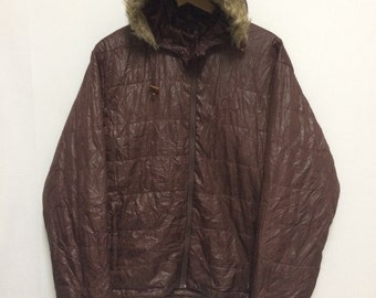 Vintage PENFIELD Down Jacket Hoodies Removable Full Zipper Double Pocket/Casual/Gear/Mountain/Noel Gallagher/LL/Hip Hop/Streetwear