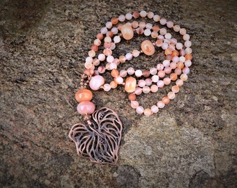 Beautiful Soft Coloured Mala.