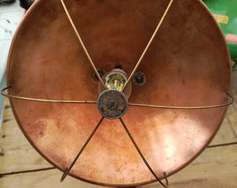 Vintage Thermodyne Paris heat lamp, repurposed into LED lamp