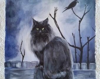 """Original image """"Magic Cat"""""""
