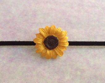 Sunflower Power Choker