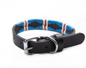 Leather Dog Collar - The Pacific