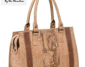 Cork Women Hand Bag - Very Stylish, Very Eco Friendly!