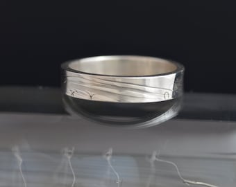 Filament Collection Silver Band