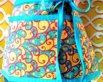 Whimsical Enchanted apron, Waitress apron, Teacher apron, Utility apron, Gardening apron